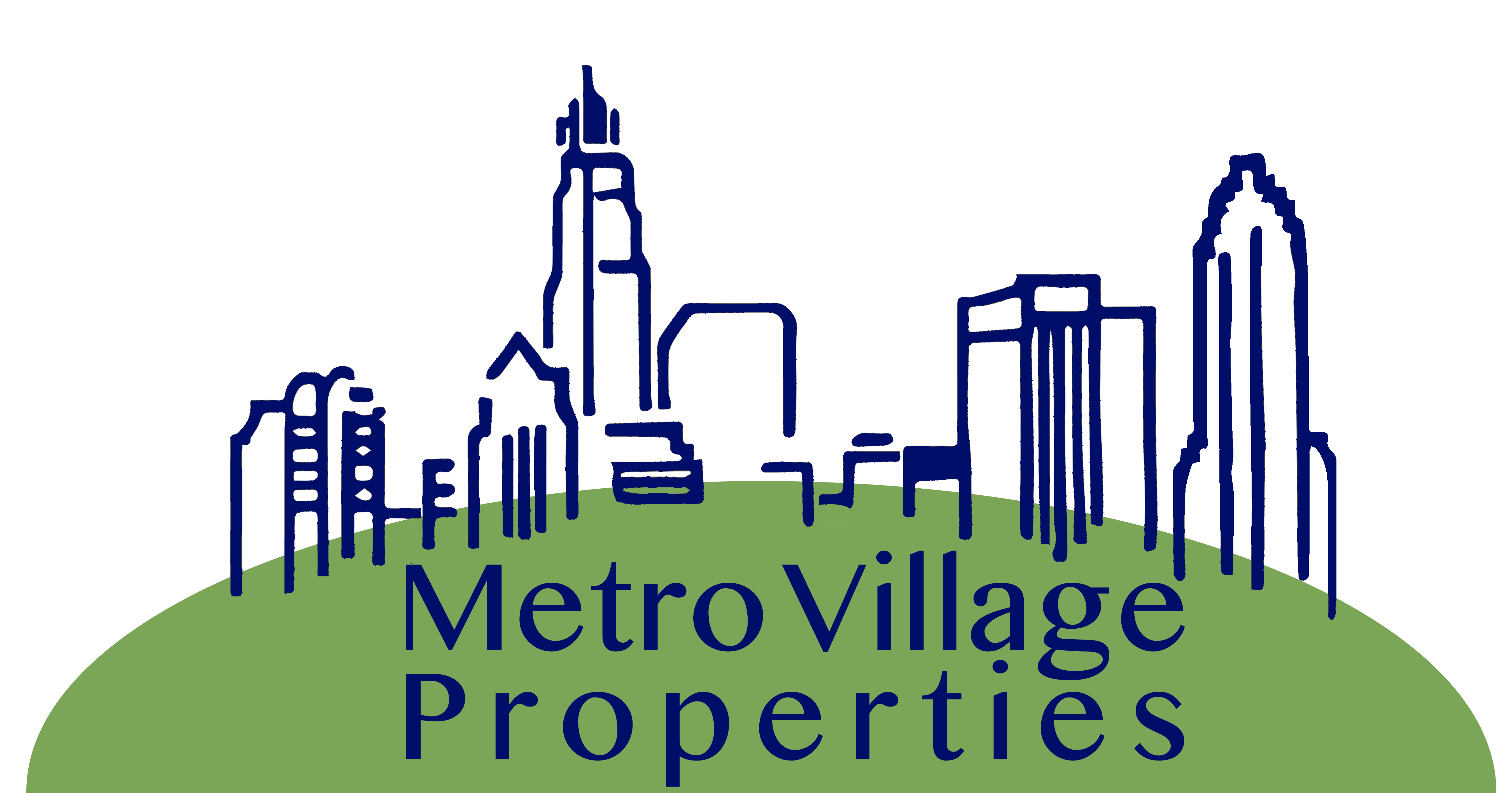 Metro village properties logo redesign your marketing hand a fresh logo for realty firm metro village properties by your marketing hand altavistaventures Choice Image